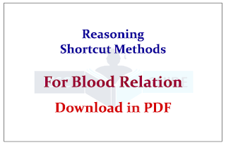 Tips to Solve Blood Relation Questions in Reasoning Section- Download