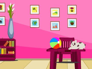 knfgame pink room escape escape games daily new escape games