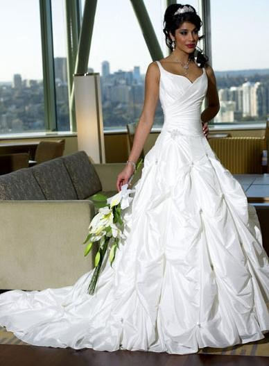 Bridal Long Dresses Wedding Gowns For The Pregnant Bride