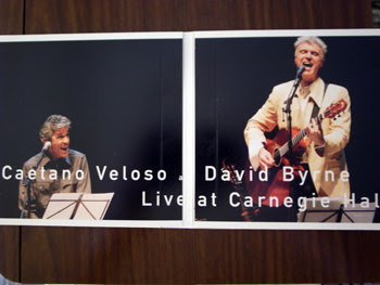 Caetano Veloso and David Byrne / Live at Carnegie Hall