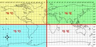 Resultado de imagen de coordenadas mapa