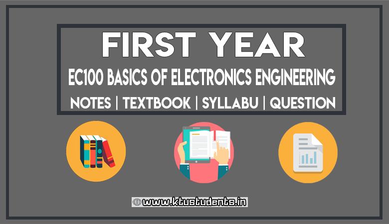 Basic Electronics Ktu Notes - Circuit Diagram Images
