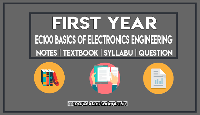 Basics of Electronics Engineering KTU