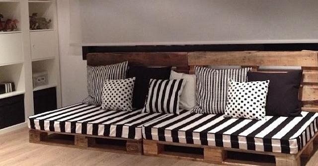 Muebles para sala salÓn hechos con pallets : decoración del hogar ...