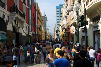 Jirón Unión Lima, Jiron de la Union Lima, Paseando en Lima