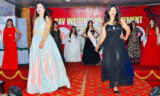 DAV Institute, Ramp Walk in Thalassemia Awareness Fair, Faridabad