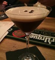 Photograph of the Arti's Espresso Martini