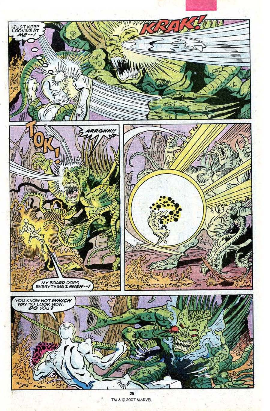 Read online Silver Surfer (1987) comic -  Issue #23 - 27