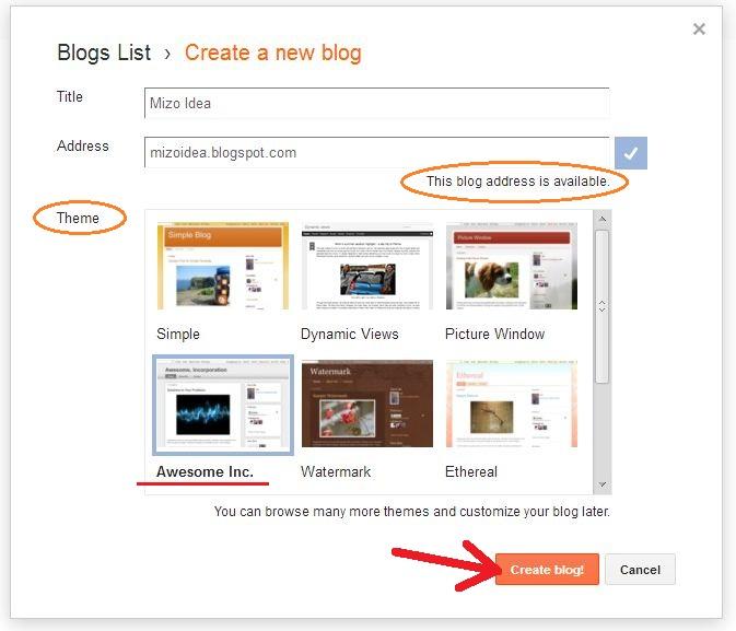 blogger domain address siam theih