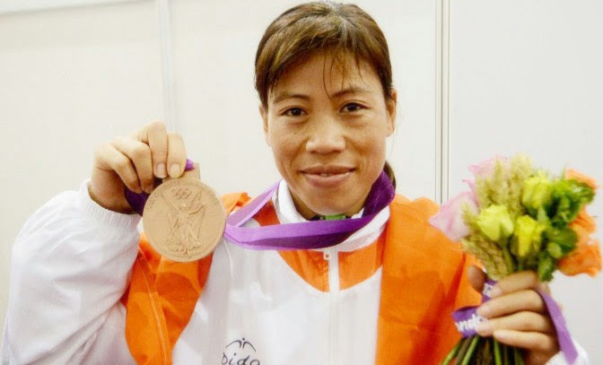 mary kom boxing star