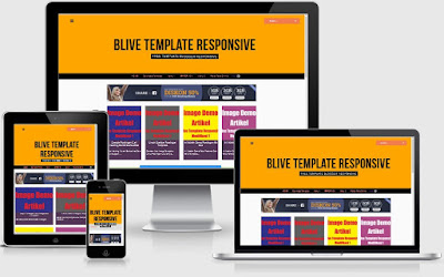 Download Free Blogger Template Blive