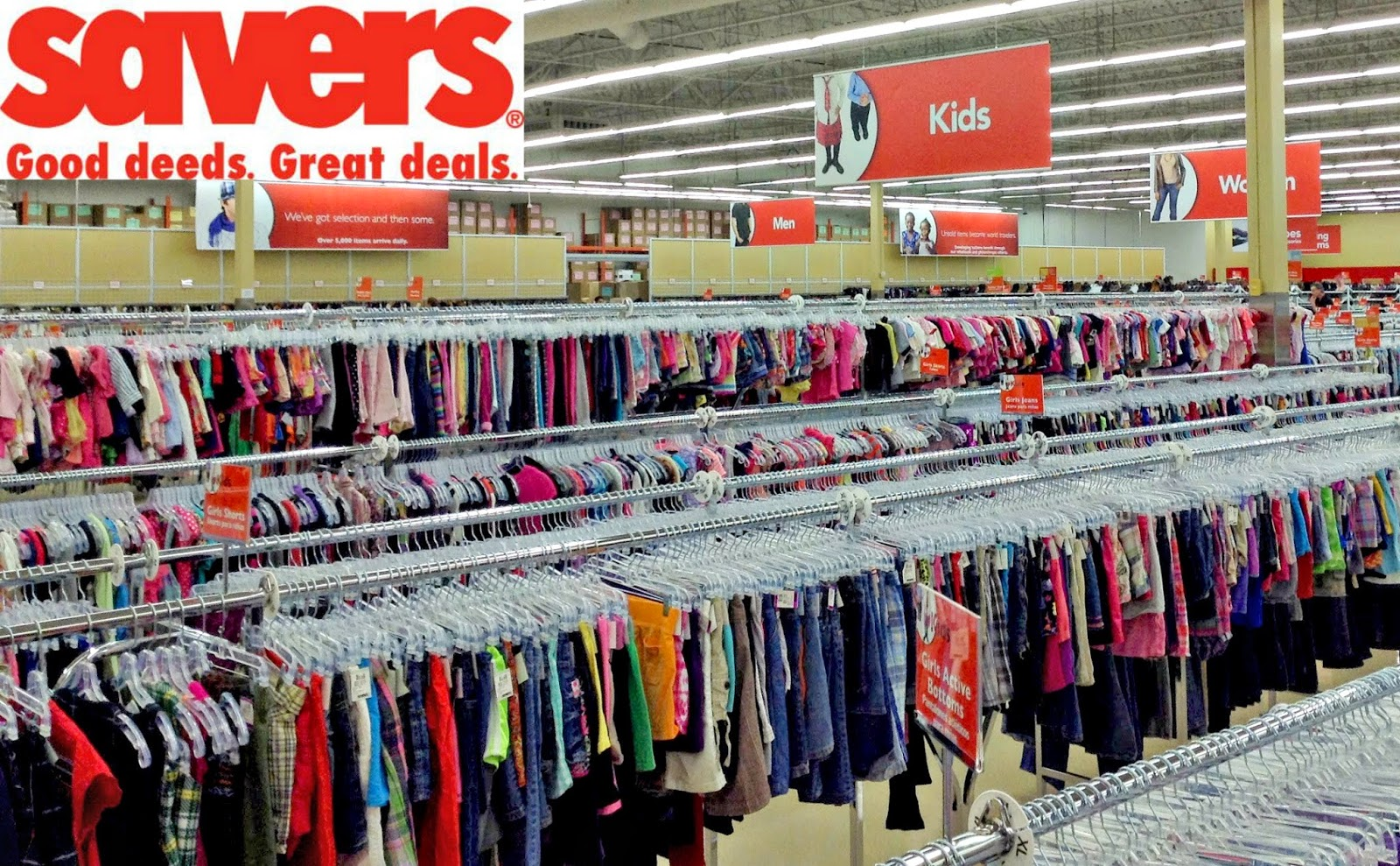 Enter to win $50 to Savers!