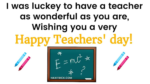 Happy Teachers' Day 2020 5th september Quotes in English