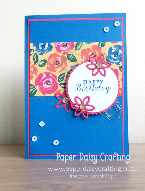 Springtime Impressions card from Stampin' Up