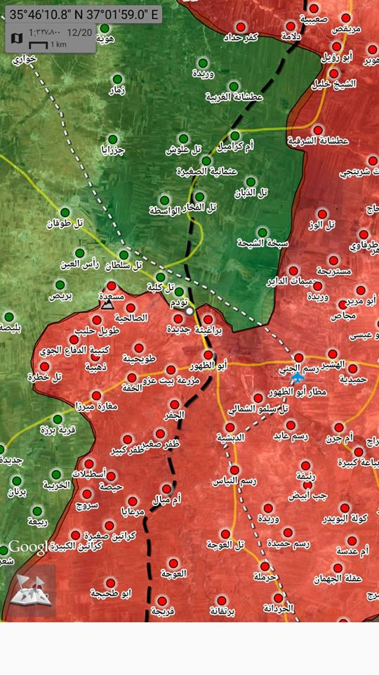 MAP UPDATE Syrian Army continues smashing jihadists liberates a