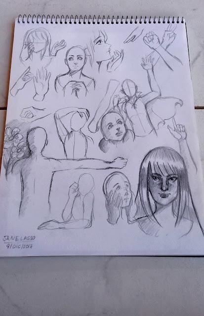 sketches variados