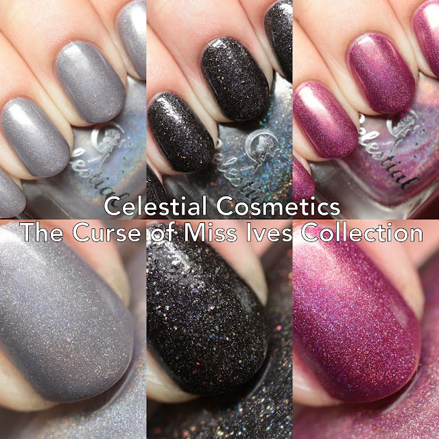 Celestial Cosmetics The Curse of Miss Ives Collection