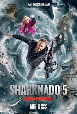 Sharknado 5 Global Swarming (TV) 2017 Custom HD Latino