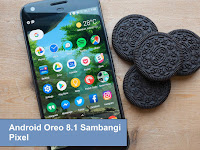 Android Oreo 8.1 Sambangi Pixel Dalam Kurun Waktu Beberapa Minggu Ini
