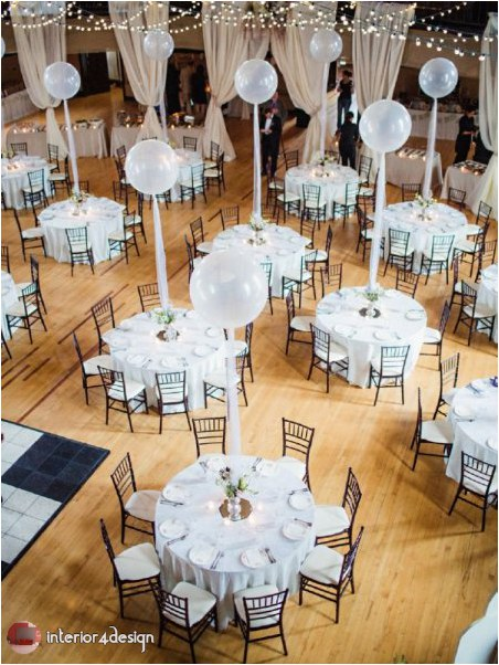 Wedding Decorations With Balloons And Flowers 27