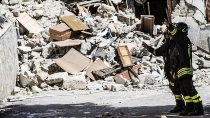 Italia Dilanda Ratusan Gempa Susulan, 250 Orang Tewas