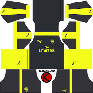 Arsenal Kits 2016/2017 - Dream League Soccer 2017