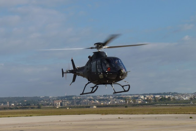 SW-4 Solo helicopter first flight