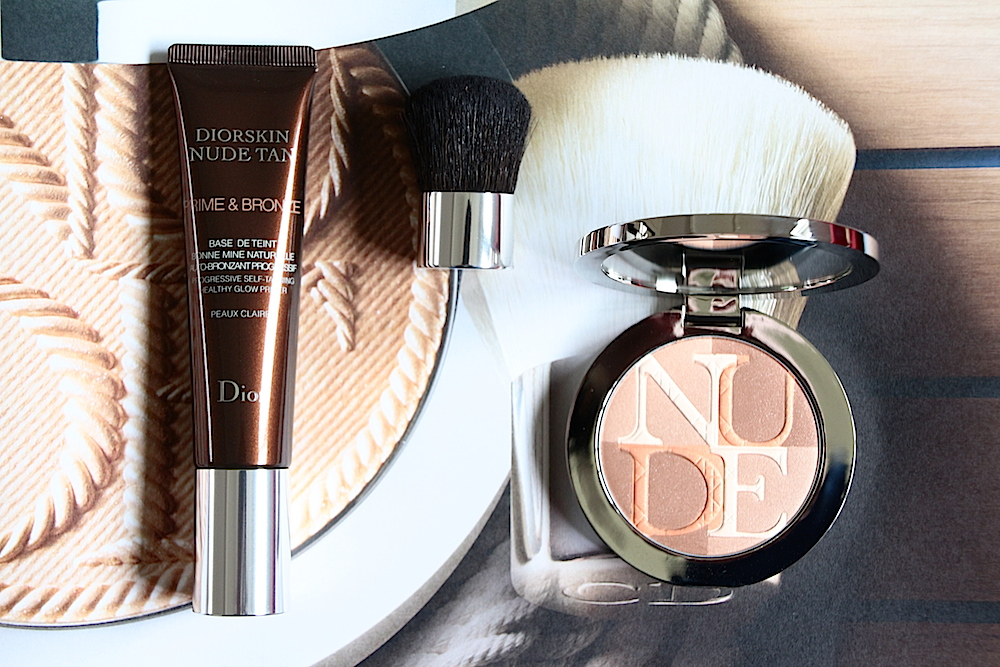 dior diorskin nude tan collection maquillage été 2014 prime&bronze base de teint shimmer avis test