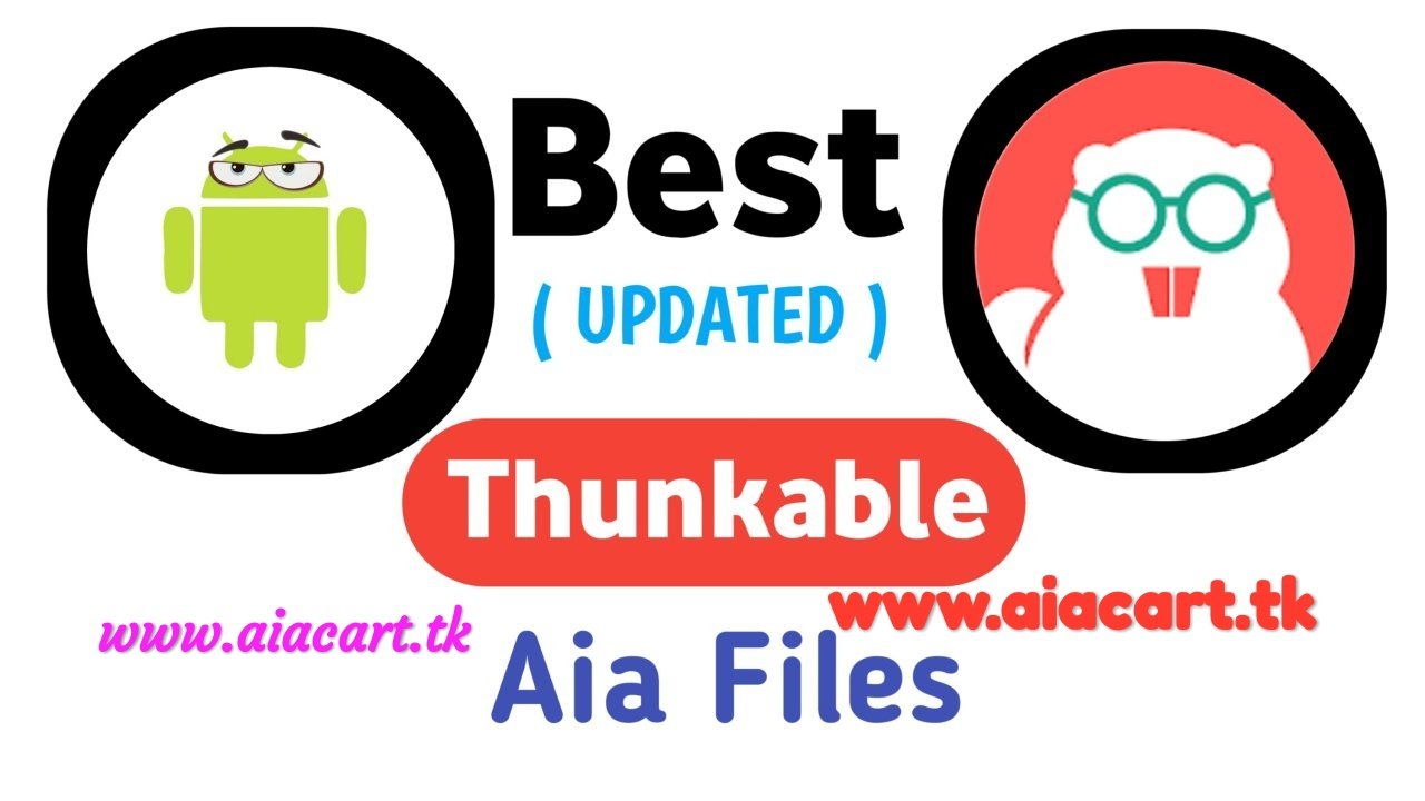 best earning app aia file thunkable