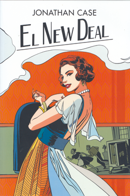 The New Deal de Jonathan Case Roca Editorial comic hotel
