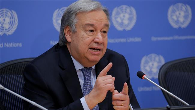 Ending occupation sole way to resolve Israel-Palestine conflict: United Nations Secretary General Antonio Guterres