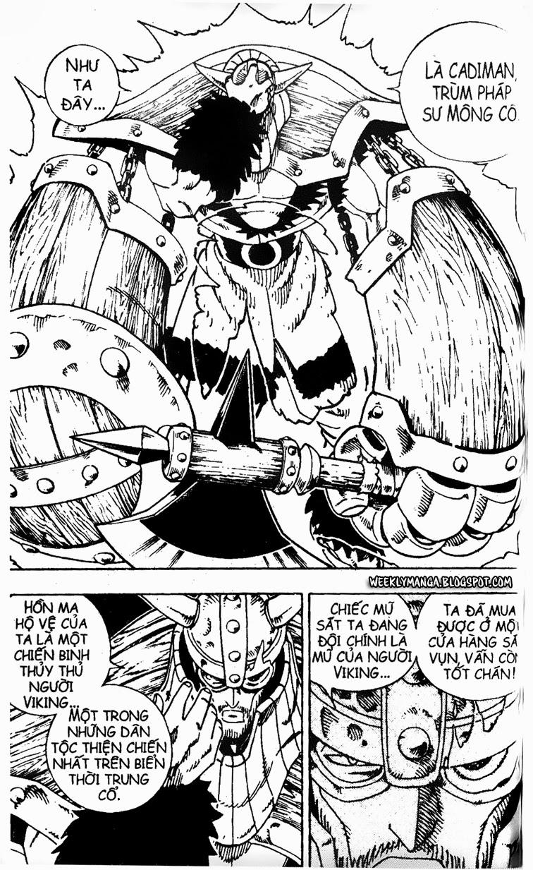 Shaman King [Vua pháp thuật] chap 127 trang 16