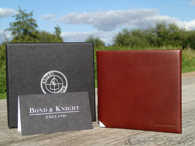 Handmade Personalised Wallets from Bond & Knight