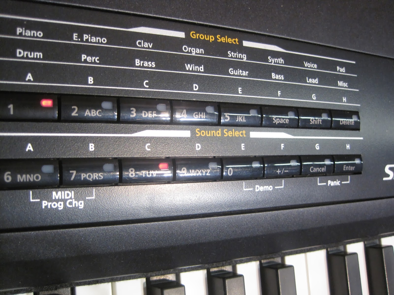 Kurzweil SPS4-8 digital piano
