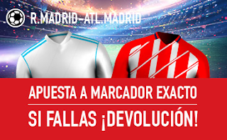 sportium Promocion Real Madrid vs Atletico 8 abril