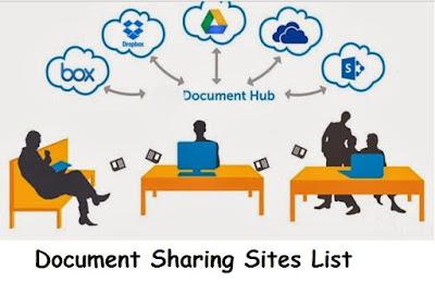 Document Sharing Sites List