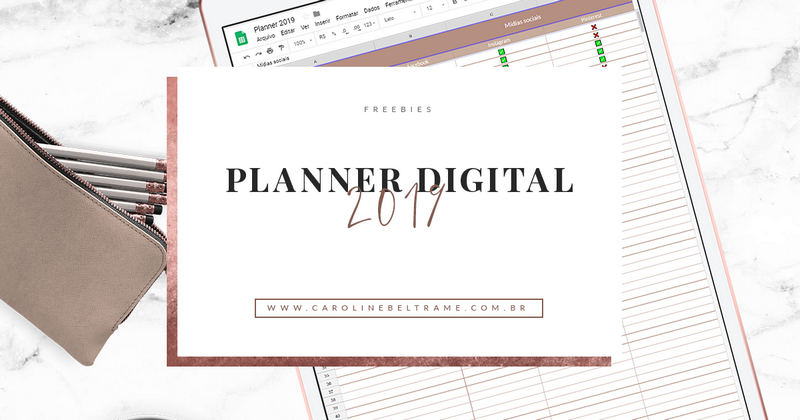 PLANNER DIGITAL 2019