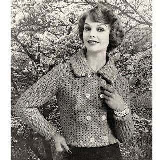 Knitting Pattern, Bulky Jacket with Long Sleeves