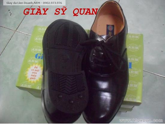 Giày Sỹ Quan, giày Tá, giày Tướng, giày bảo vệ liên doanh ARM