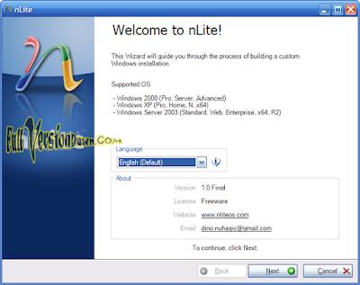 Download nLite v1.4.9.3 Final Free