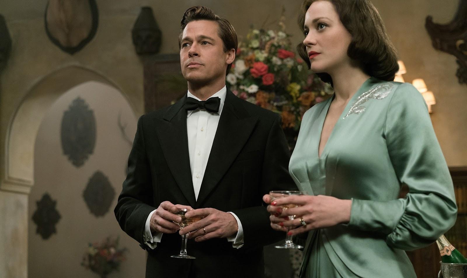 Aliados | Drama de guerra, com Brad Pitt e Marion Cotillard, ganha 3º trailer
