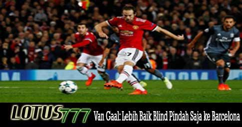 Van Gaal: Lebih Baik Blind Pindah Saja ke Barcelona