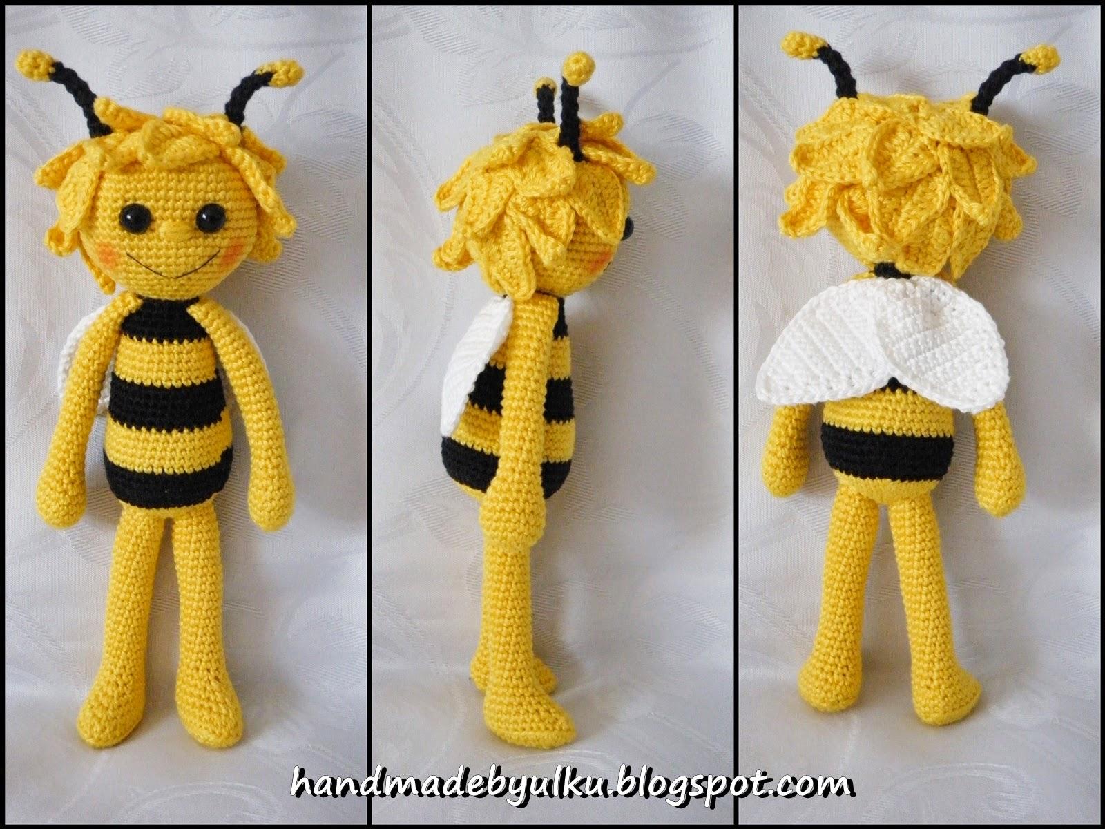 Handmade By ülkü Amigurumi Süße Biene Cute Bee
