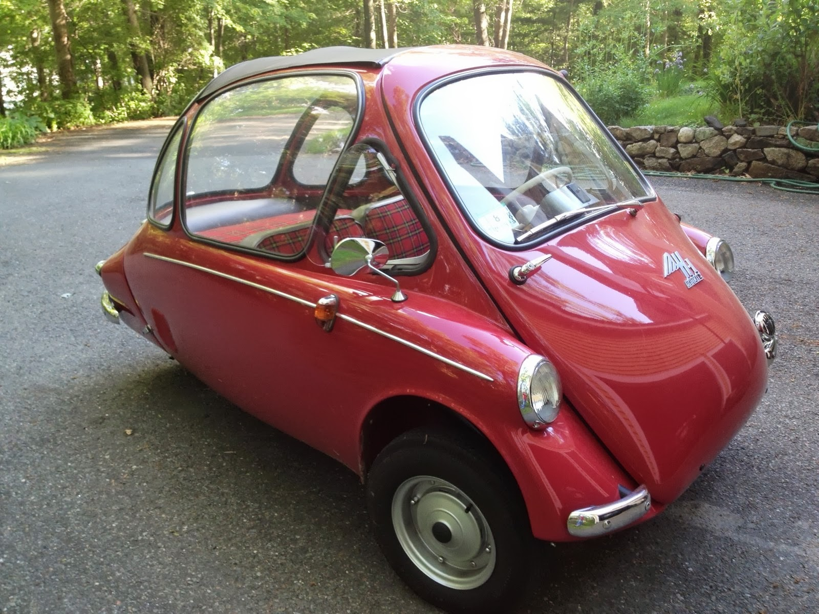 Heinkel Cars And Kabines The Sunroof Was Advertised As A