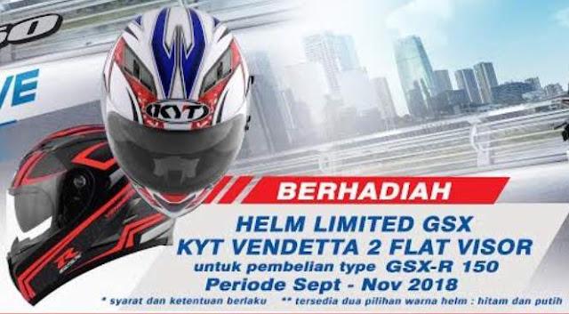 Helm Vendetta 2 Flat Visor Khusus GSXR 150