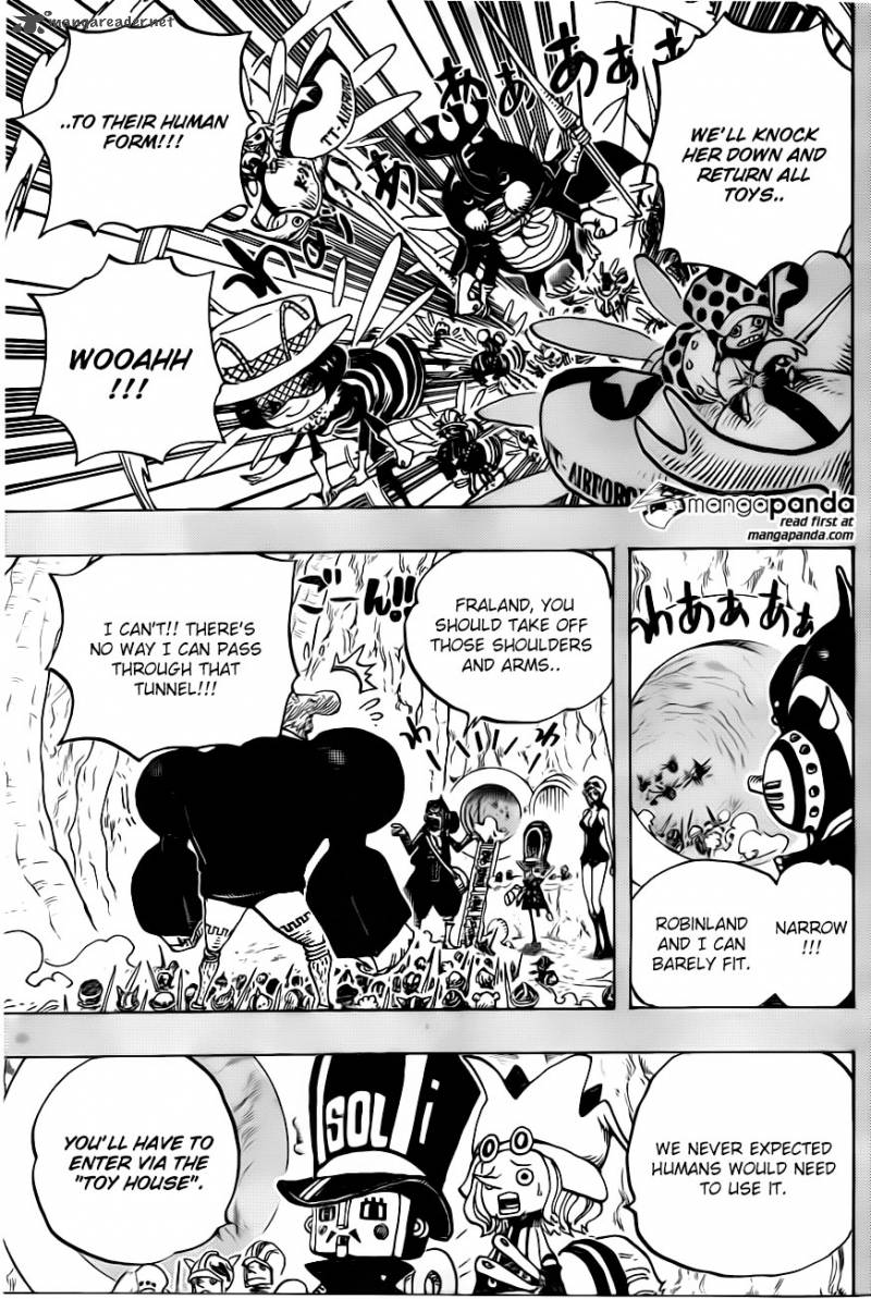 One Piece Ch 732: The underground world