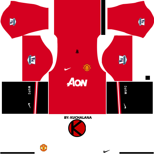 Manchester United Kits 2013/2014 - Dream League Soccer