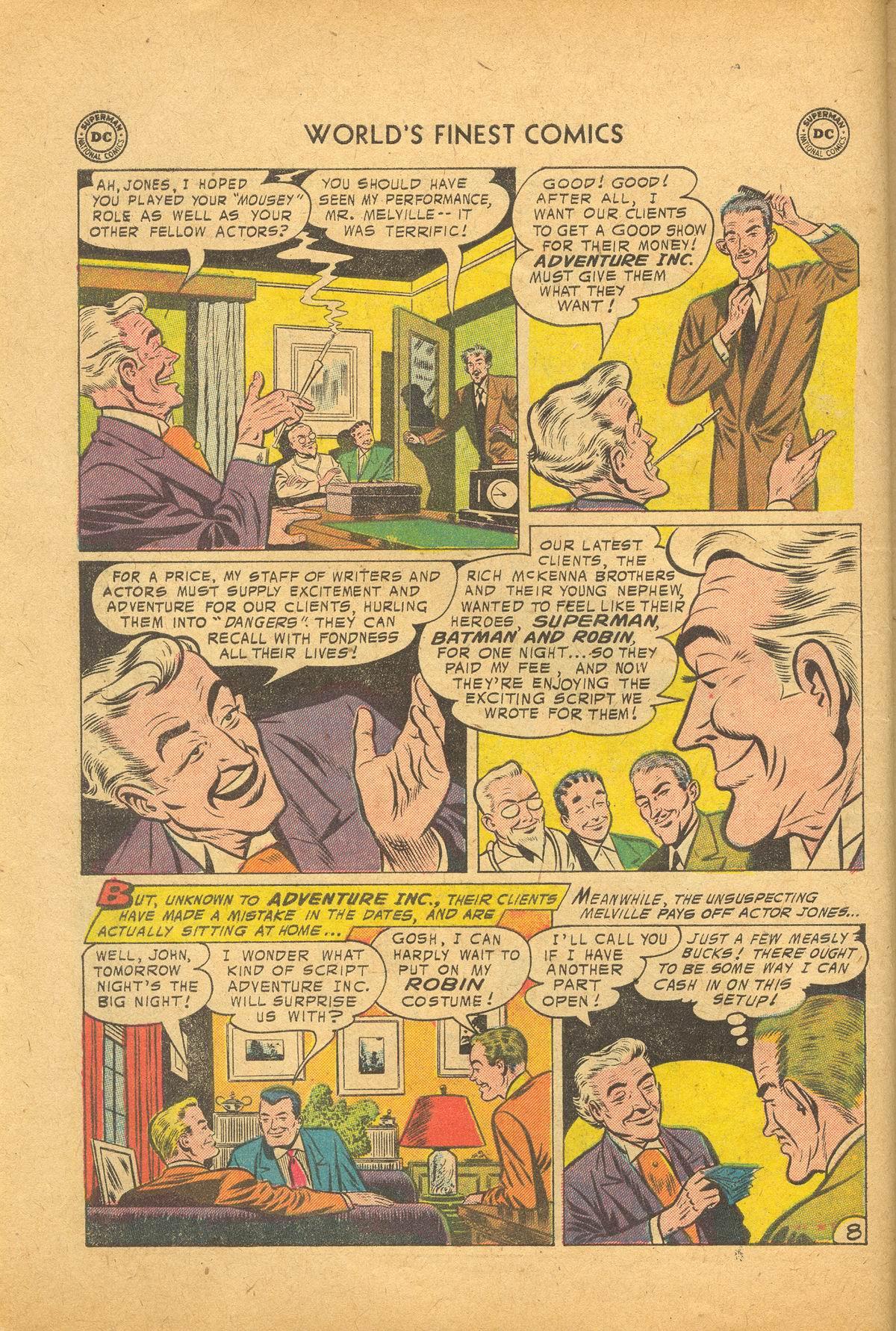 Read online World's Finest Comics comic -  Issue #83 - 10