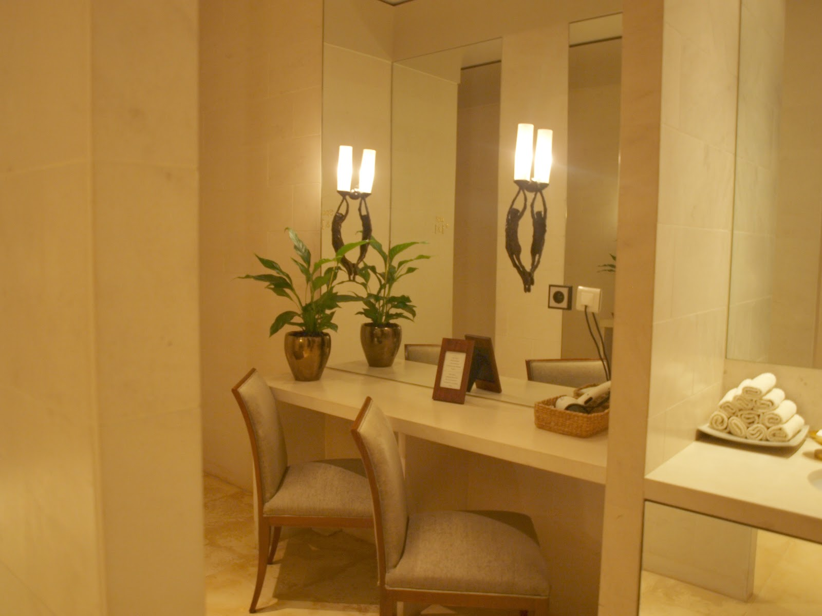 Bathroom in Le Spa at Park Hyatt Paris Vendome - by Hello Lovely Studio