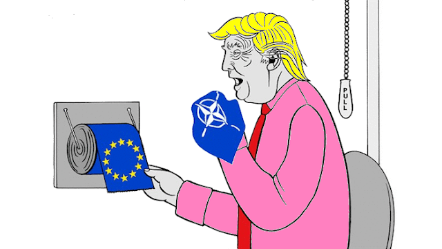 DONALD TRUMP AND EUROPE : A helpful reminder